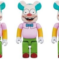 シンプソンズ krusty the clown 100% 400% 1000% ベアブリック (BE@RBRICK) [情報]