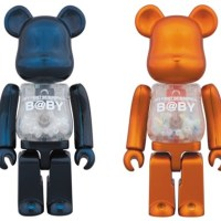 1/6計画 MY FIRST B@BY Pearl Navy/Pearl Orange Ver 100% ベアブリック (BE@RBRICK) [情報その2]