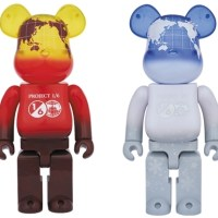 1/6計画 NOVELTY EARTH 400% (VOLCANO RED / SNOW WHITE) ベアブリック (BE@RBRICK) [情報]