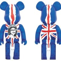 SEX PISTOLS Ver.2 God Save The Queen Clear 1000% ベアブリック (BE@RBRICK) [情報]