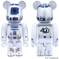 STAR WARS R2-D2 40th AnniVersary Ver ベアブリック (BE@RBRICK) [情報]