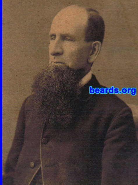 historic beard, a beard from the past