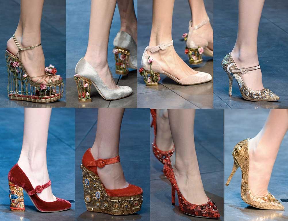 Dolce&Gabanna | Milan Fashion Week-2013-2014 | Shoes