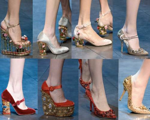 Dolce&Gabanna | Milan Fashion Week-2013-2014 | Shoes