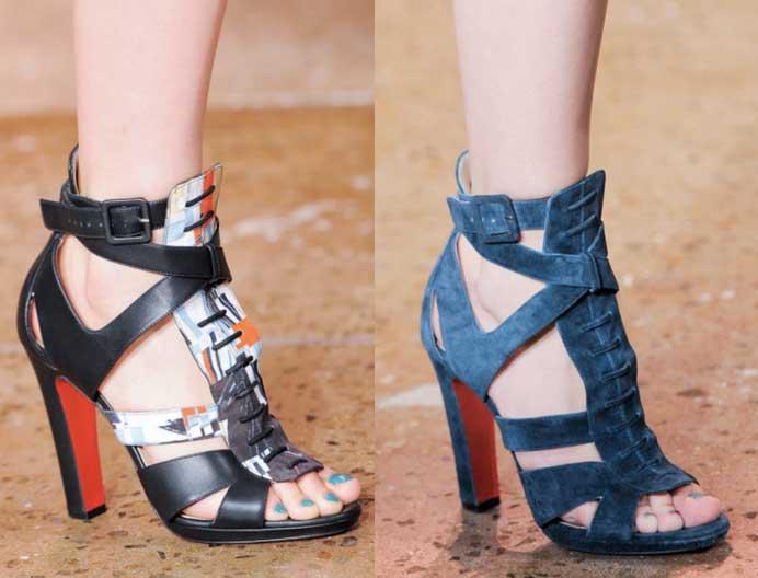 Peter-Som | MB Fashion Week New York. Mercedes Benz Semana de la Moda de New York | Spring-Summer 2014. Primavera-Verano 2014 | Calzado Shoes