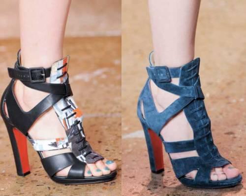 Peter-Som   MB Fashion Week New York. Mercedes Benz Semana de la Moda de New York   Spring-Summer 2014. Primavera-Verano 2014   Calzado Shoes