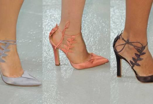 Zac Posen   MB Fashion Week New York. Mercedes Benz Semana de la Moda de New York   Spring-Summer 2014. Primavera-Verano 2014   Calzado Shoes