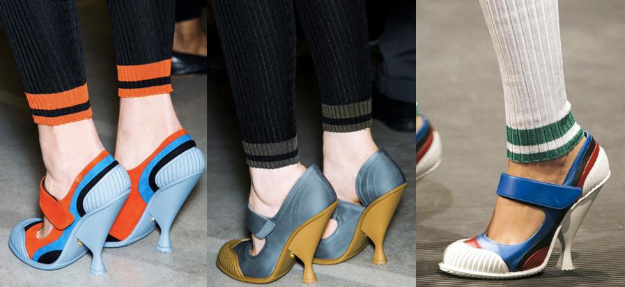 Prada   Milan Fashion Week / Semana de la Moda de Milán   Spring-Summer 2014   Primavera-Verano 2014   Shoes / Calzado