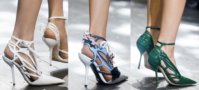 Christian Dior | Paris Fashion Week / Semana de la Moda de Paris | Spring-Summer 2014 | Primavera-Verano 2014 | Shoes / Calzado