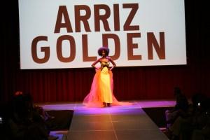 Arriz Golden. Africa Fashion Week Barcelona 2015