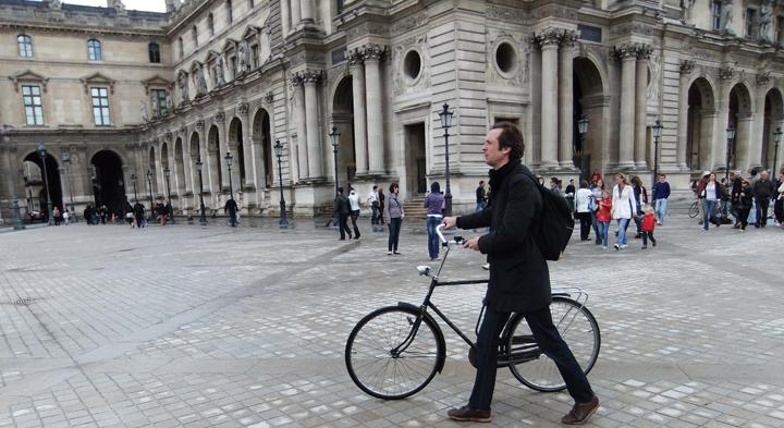 Bikeridr in Paris