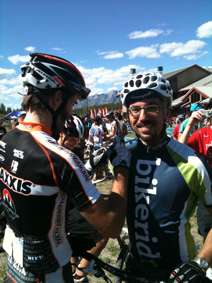 Me and Geoff Kabush