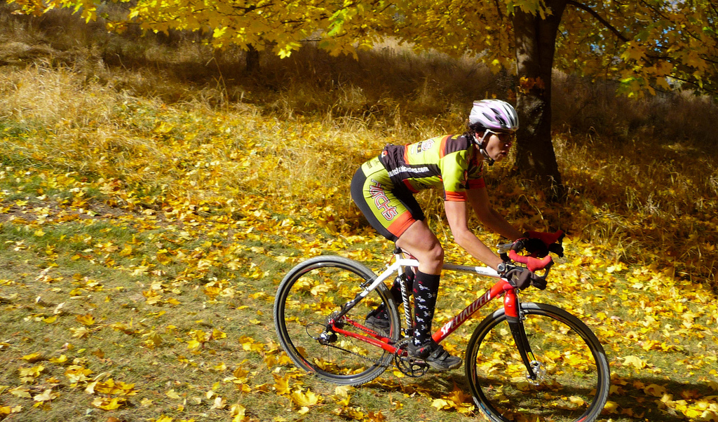 Lillian Schiavo - Klamath Falls Cyclocross Series 2009