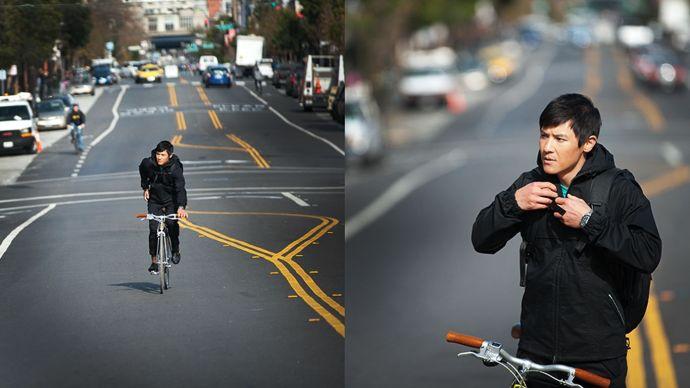 Levis Commuter Lookbook