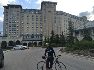 Chateau Lake Louise 250km and 300 meters later