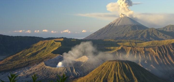 Bali volcano