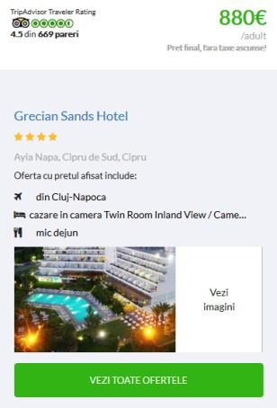 Sejur din Cluj Grecian Sands Hotel