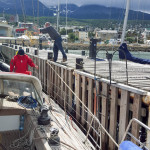 The Sarah Vorwerk casts off for the Antarctica Travel (Ushuaia)