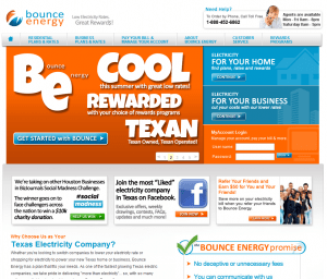 Bounce Energy Texas electricity savings