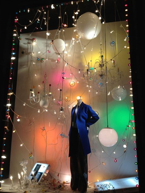Designer windows at Bergdorf Goodman