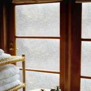 french door window covering