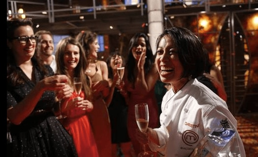 Christine Ha wins MasterChef