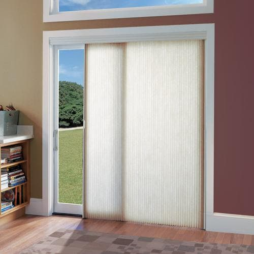 Blinds.com brand cordless vertical cellular shadings