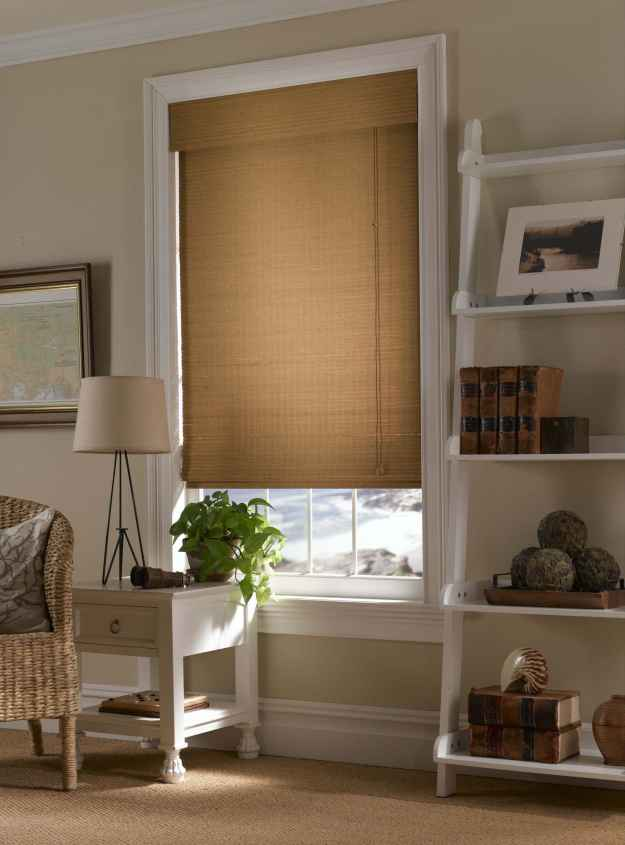 Blinds.com Brand Basic Woven Wood Shades