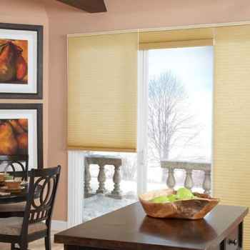 Blinds.com Brand Super Insulating Triple Cell Shade in Gold