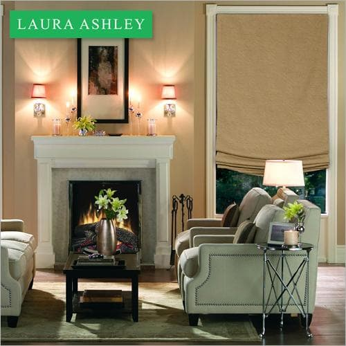 Laura Ashley Relaxed Roman window shade