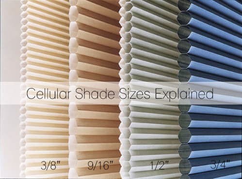 Cell shade sizes explained