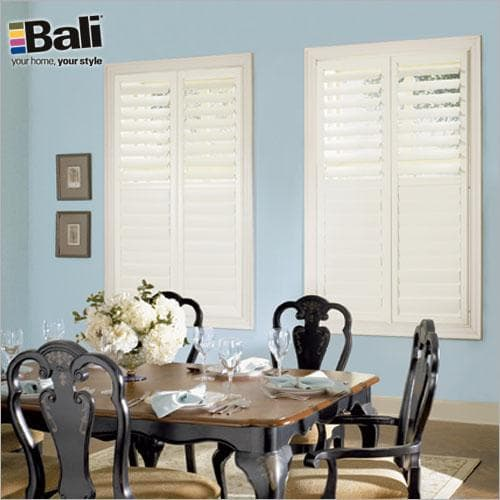Choose Bali EuroVue Shutters to get a Modern Colonial Look
