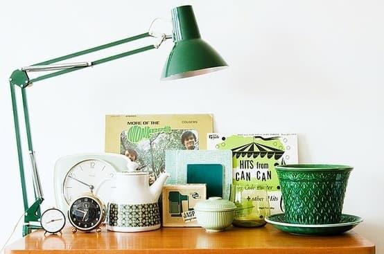 Green Vignette