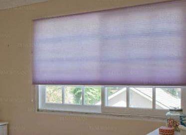 Norman Light Filtering Cellular Shades in Lavender