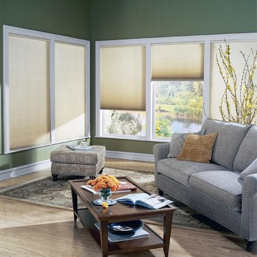 Graber CrystalPleat Single Cell Light Filtering Shades