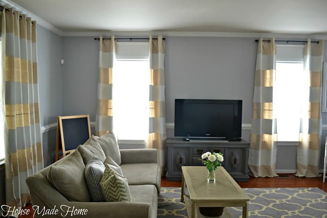 DIY Drop Cloth Curtains from House Made Home