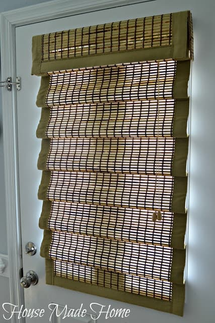 Woven wood shades review House Made Home