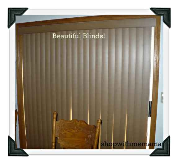 Blinds.com BRand Faux Wood Vertical Blinds