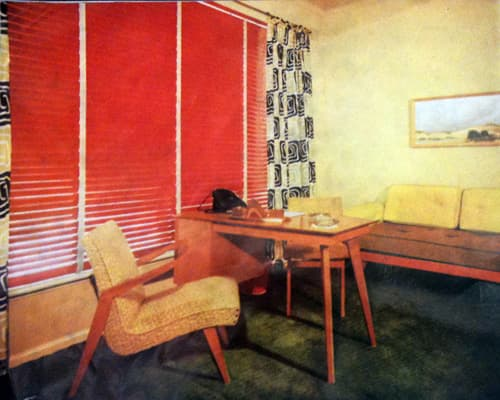 Mid Century Modern Window Treatments