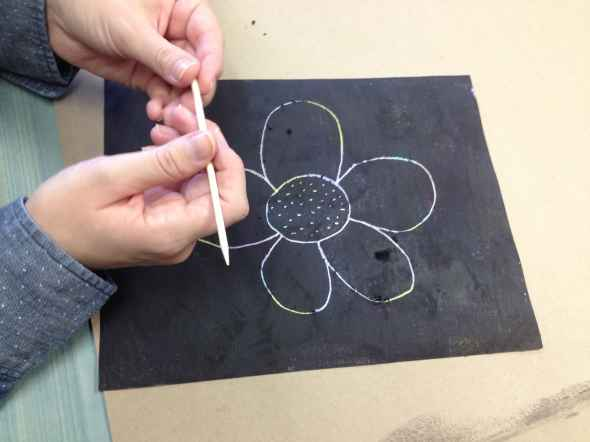 scratch off flower