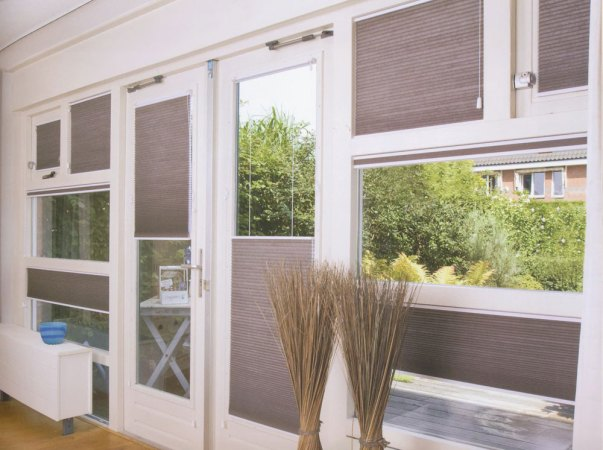 "Blinds.com 3/8"" Double Cell Blackout Shades"