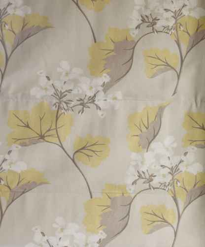 Laura Ashley Millwood Leaf Yellow Fabric