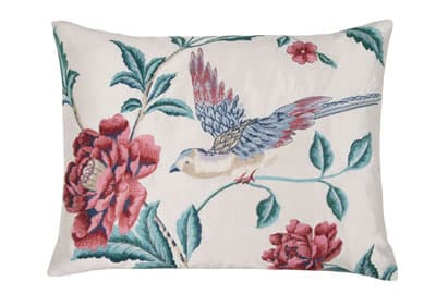 Laura Ashley Evelden Cranberry Cushion
