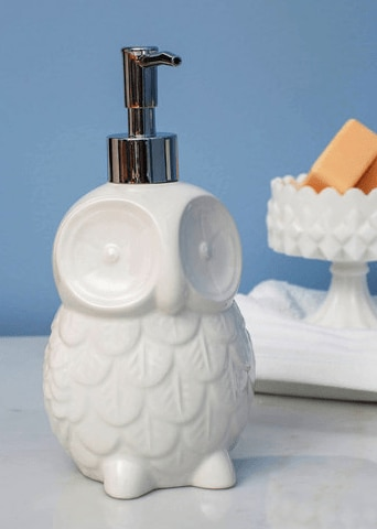owl soap dispenser