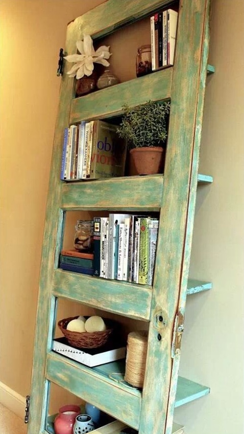 door book shelf