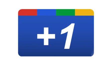 The Google Plus 1 Button