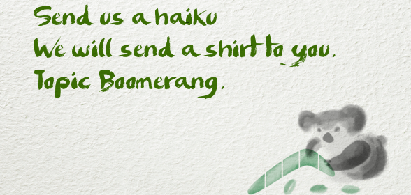Boomerang Haikus from All of You