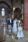 Kirchliche Trauung fotografiert der Hochzeitsfotograf.