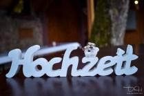 Ringe dürfen an der Hochzeit nicht fehlen! Der Hochzeitsfotograf fotografiert die Eheringe.