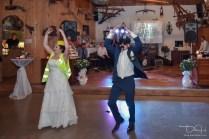 Braut und Braeutigam beim Hochzeitstanz fotografiert der Hochzeits Fotograf aus Nuernberg!